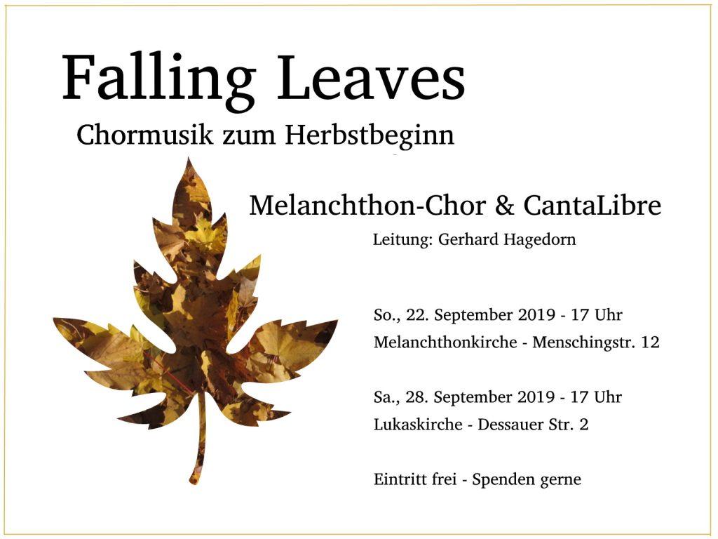 Chormusik zum Herbstbeginn